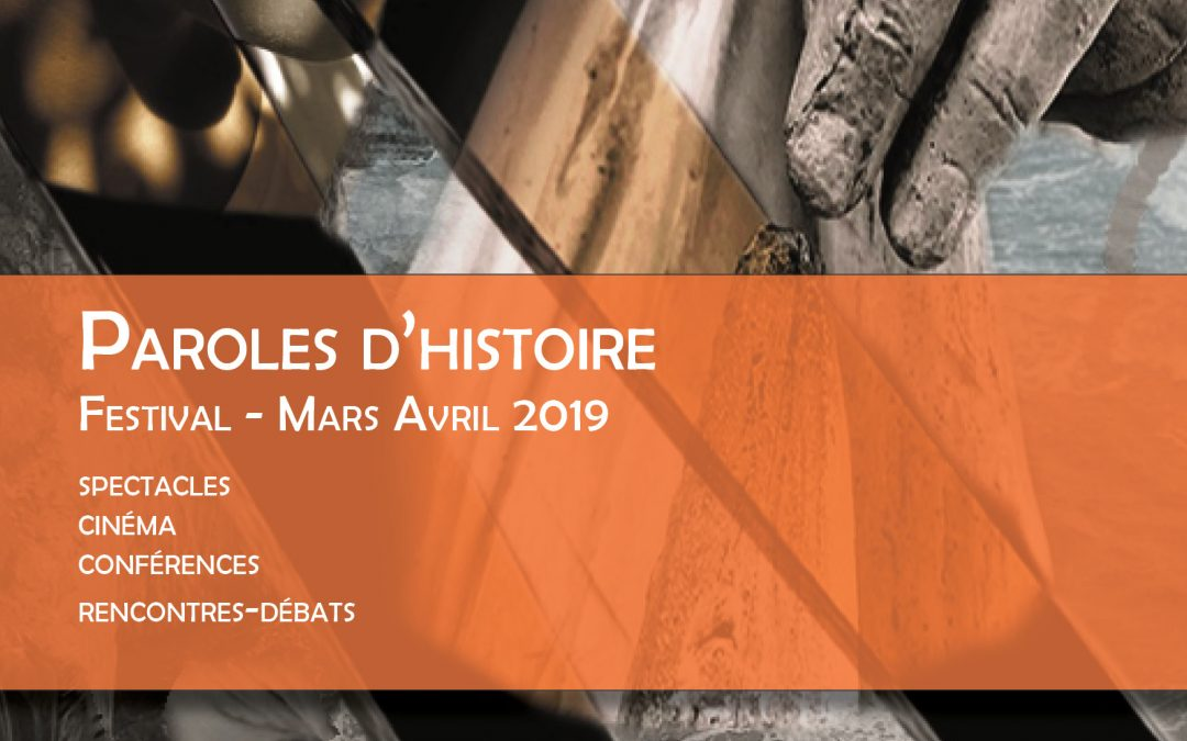 Paroles d'Histoire Mars avril 2019